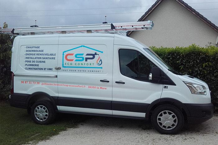 CSP Eco Confort, entreprise de plomberie, propose des prestations d'installation, de rénovation et de dépannage de vos chauffages quel qu'en soit le type, ainsi que la pose de vos cuisines.